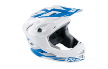 iXS Metis DH/FR Casques blanc/blue